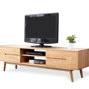Celena Solid Wood TV Console Singapore