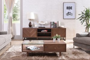 Solid Wood TV Console Singapore