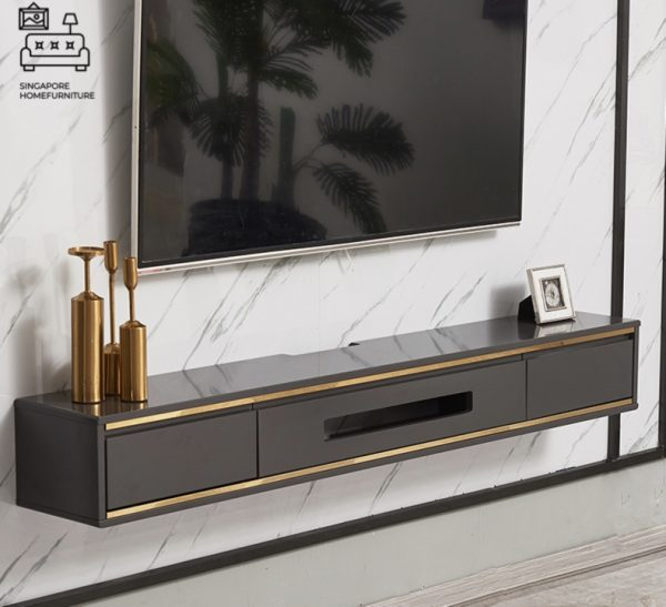 Enyo Hanging TV Console Floating TV Console Hanging TV Console Singapore