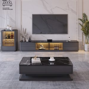Sterope Marble TV Console Singapore SingaporeTVConsole
