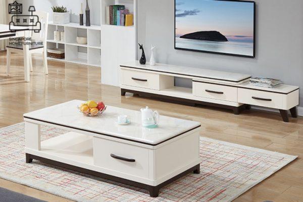 Urania Marble TV Console Singapore SingaporeTVConsole