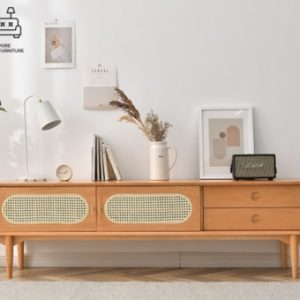Galene Rattan TV Console Singapore SingaporeHomeFurniture