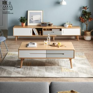 Melia Wooden TV Console SIngapore SingaporeHomeFurniture