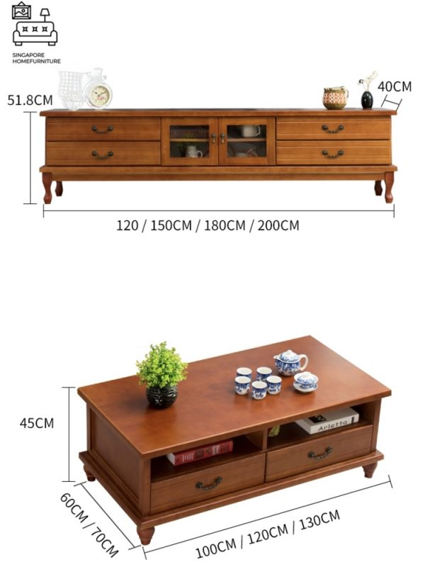 Tyche Wooden TV Console SIngapore SingaporeHomeFurniture