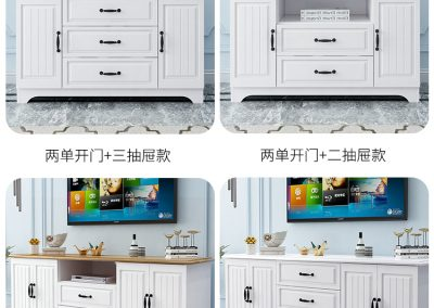 Khali Corner TV Console Singapore SingaporeHomeFurniture